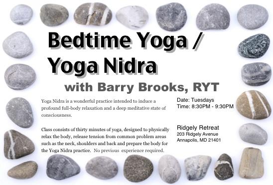 Yoga Nidra - Ridgely Retreat