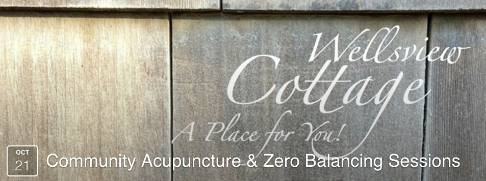 Community Acupuncture and Zero Balancing tonight at Wellsview Studio (Annapolis)
